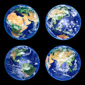 Earth Globes — Stock Photo