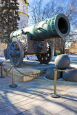 The biggest ancient cannon — Stock Photo