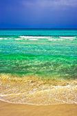Tempesta befor spiaggia — Foto Stock