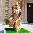 Stock Photo: Statue of Pope