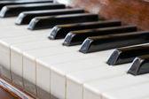 Tastiera pianoforte — Foto Stock