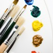 Artists tools — Stock Photo #11805593