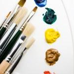 ferramentas de artistas — Foto Stock