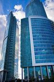 Blue Skyscrapers — Stock Photo