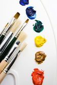 Artists tools — Stock Photo
