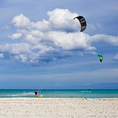 Kitesurfers — Photo