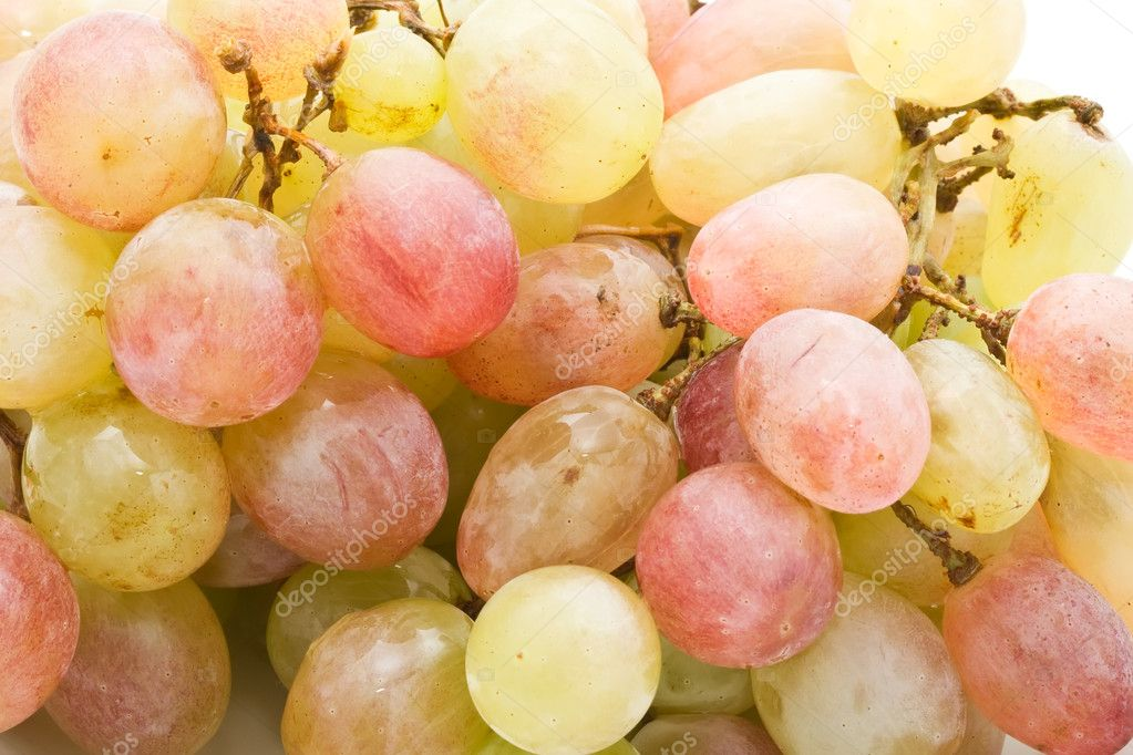 Bunch of fresh grapes background  Stock Photo #11805756