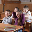 Classroom scene - Photo
