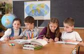 обычные школы — Стоковое фото