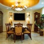 Luxury dining room interior — Stock Photo
