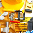 Big set of construction tools — Stock Photo #11520580