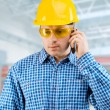 Portrait of the worker — Stock Photo