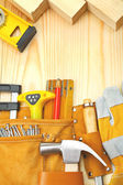 Composition of building tools — Stock Photo