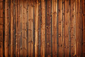 Old larch boards - grunge background — Stock Photo