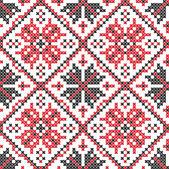 Ukrainian seamless vector texture — Stock Vector