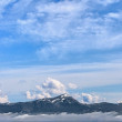 Stock Photo: Mountain panoram- Carpathians