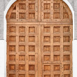 Big old wooden gate - Moscow Kremlin, Russia. — Stock Photo