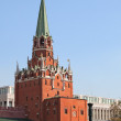 Troitskaya tower. Russia, Moscow, Kremlin. — Stock Photo