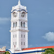 Clock tower. Malaysia, Georgetown - Stock Photo