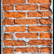 Vertical brick column requires repair — Stock Photo #11221613