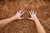 заботиться о земле — Стоковое фото