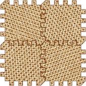 Tiles of the hardboard — Stock Vector