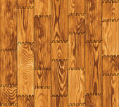 Seamless texture - wooden boards wall — Stockvektor