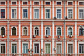 Facade of a house. Old architecture. — Stock Photo