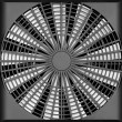 Industrial ventilation fan — Stock Photo
