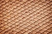 Rusty metal deck background — Stock Photo