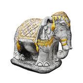 Religijne rzeźby słonia - tajlandia — Zdjęcie stockowe
