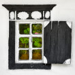 Old window - Ukrainian village style — Stock Photo #12041599