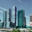 Modern skyscrapers in Moscow — Stock Photo