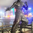 Bruce Lee statue — Stock Photo #11010084