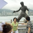 Tourists in Hong Kong - Foto Stock