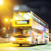 Hong Kong bus — Stock Photo