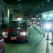 Hong Kong taxi - Stock Photo