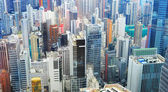 Hong Kong business district — Stock Photo