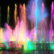 Fountain show — Stock fotografie