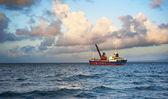 Fishing ship — Stock Photo