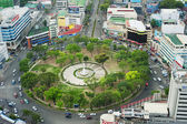 Fuente Osmena Circle — Stock Photo