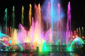 Fountain show — Stock Photo