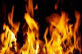 Oheň textura — Stock fotografie