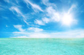 Thailand sea and perfect sky — Foto Stock