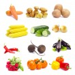 Collection vegetables — Stock Photo #12315337