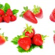 Royalty-Free Stock Photo: Strawberry set