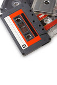 Cassettes on white background — Stock Photo