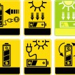 Solar battery, charge, recharge — Stock Photo