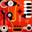 Royalty-Free Stock Vector Image: Abstract Music