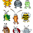 Cartoon insects — Stockvector  #10780386